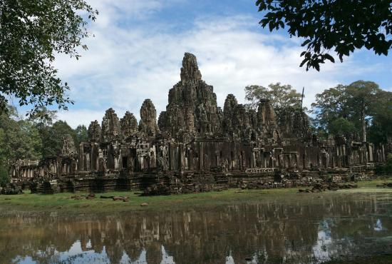Siem Reap Private Guide - Day Tours: Bayon Temple, Angkor Thom, Cambodia, spectacular-- built late 12th century.