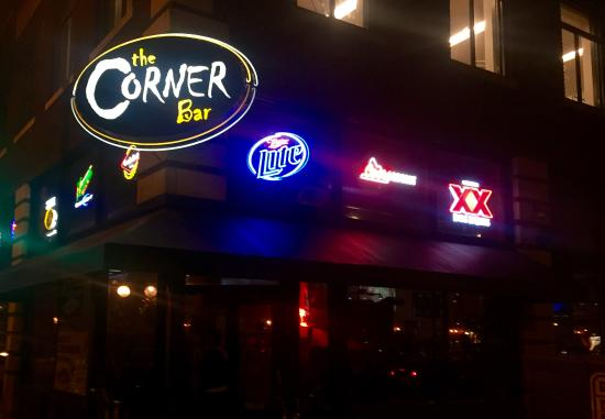 Corner Bar: Outside