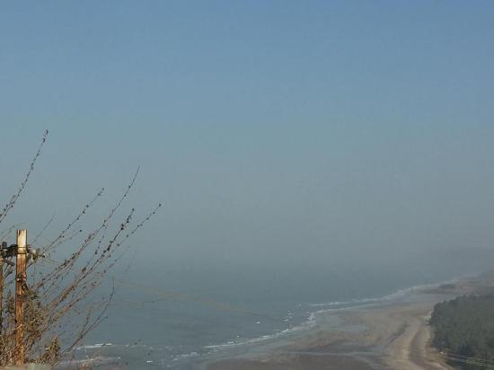 Anjarle Beach: Anjarle  from Hills.... :)