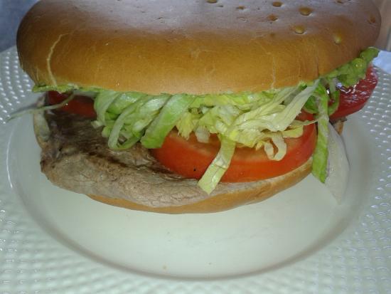 Patagonia food: Sandwich
