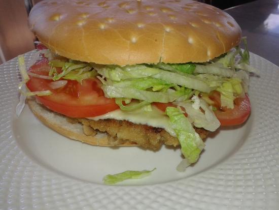 Patagonia food: Sandwich de milanesa