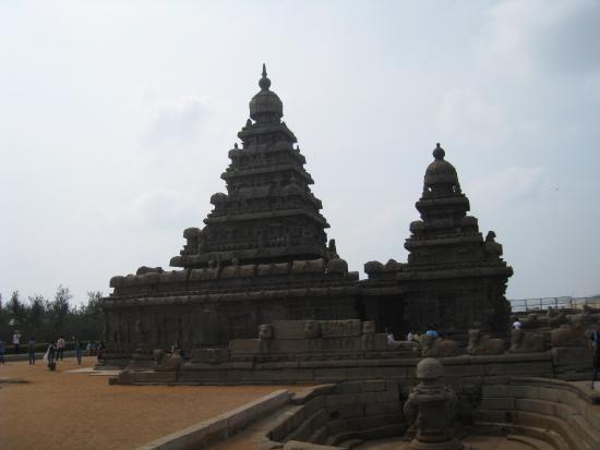 Sea Shore Temple south of Chennai, India