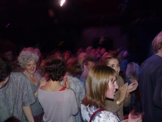 The Trades Club: Ecstatic audience at the end can't believe what just seen