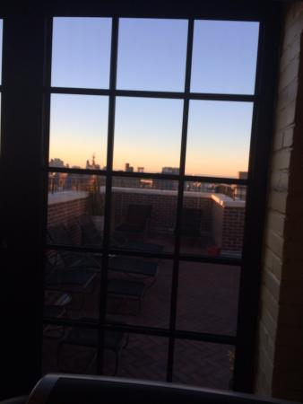 The Ludlow New York City: View from fitness center