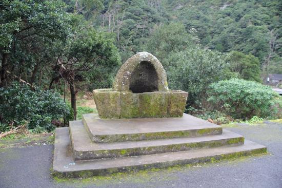 Casa de Pasto Justiniano: Старый фонтан