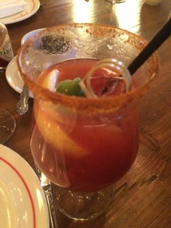 The Ludlow New York City: Great Bloody Mary in Dirty French restaurant