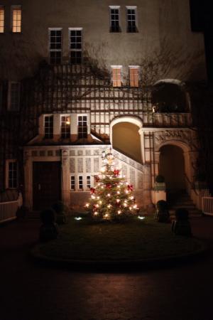 Hotel-Pension Waizenegger: Внутреннее убранство перед Рождеством