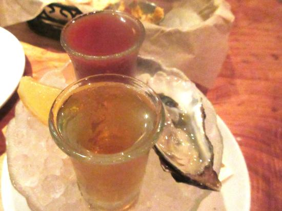 Oyster Shooter, Boxing Room, San Francisco, Ca