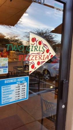Two Girls Pizzeria: Tucked into a strip mall, the unassuming shop produces some exceptionally good food.