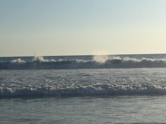 Vida Asana Eco-Retreat and Yoga Center: Playa Hermosa, a 10 minute bike ride away