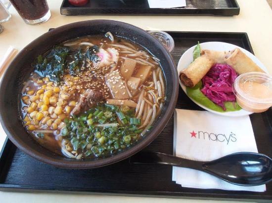 Noodles By Takashi Yagihashi Miso With Spring Shrimp Rolls