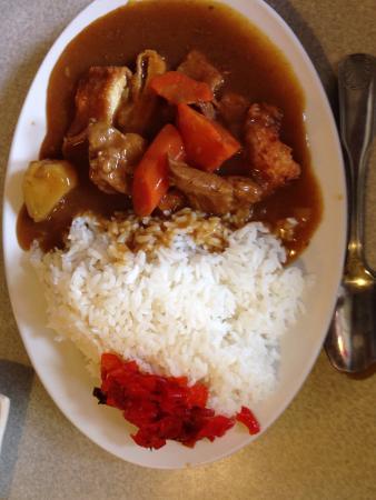San Mateo, CA: 咖哩豬排飯