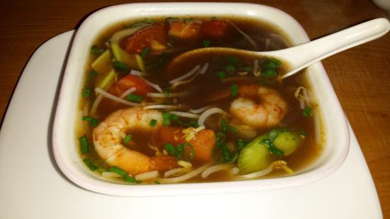 Saigon Kitchen: Hot and Sour soup
