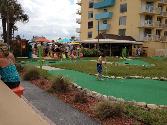 Miniature Golf Course At The Fountain Beach Resort