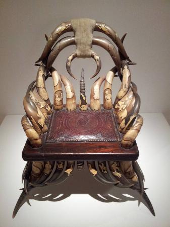 Mingei International Museum: Chair Of Horns From Longhorn Cattle