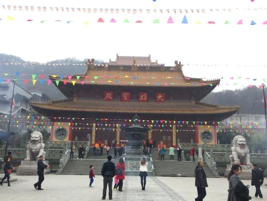 Gaoping, China: Dinglin Temple