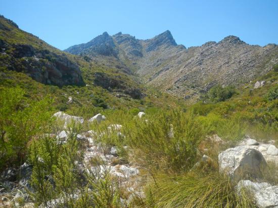 Gordon's Bay, Sydafrika: Crystal Pools Waterfall.