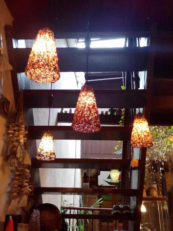 Joe's Design: Handmade lampshades at the walkway