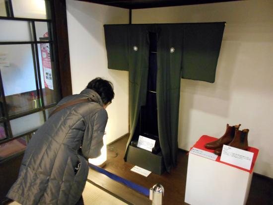 Nagasaki Kameyama Shachu : 紋服とブーツ