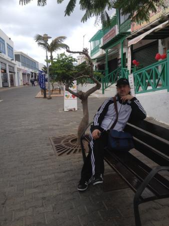 Paseo Maritimo: Una piccola sosta durante la passeggiata !