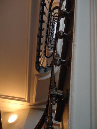 Grand Hotel de Turin: Лестница