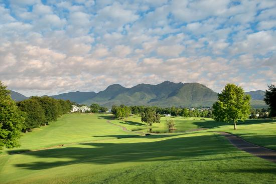 Fancourt: A view down the 14th hole of the Outeniqua Golf Course