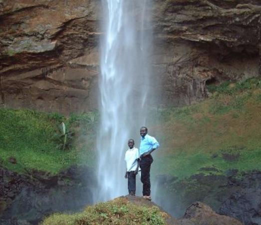 Eastern Region, Uganda: Serene-Sipi falls on the side of  the extinct  volcano; Mt El, good for  relaxing, honey moon