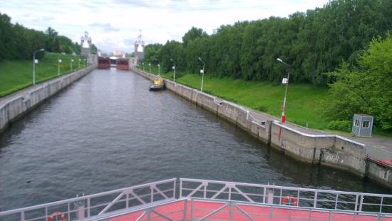 Gateway number 7 of the Moscow Canal