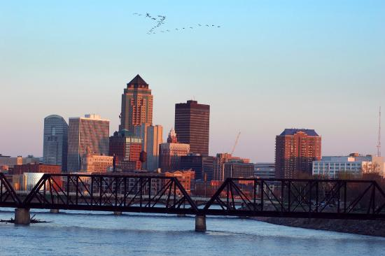 Country Inn & Suites By Carlson, Des Moines West: Des Moines Skyline