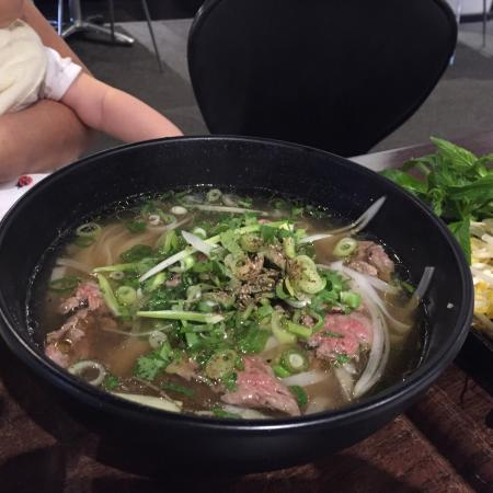 Little Grill: Pho: raw beef soup