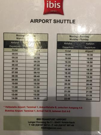 Hotel Ibis Frankfurt Airport Shuttle