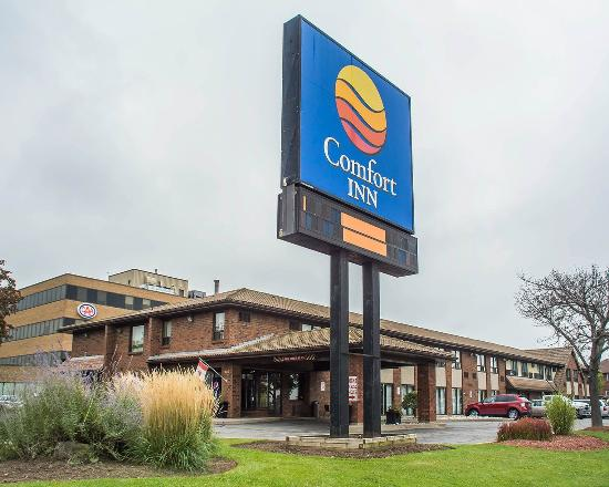 Welcome to the Renovated Comfort Inn Hamilton!