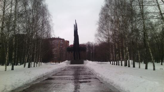 Monument to Soviet-Polish Arm Community