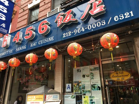 Dinner at 456 in chinatown picture of 456 shanghai for 456 shanghai cuisine manhattan ny