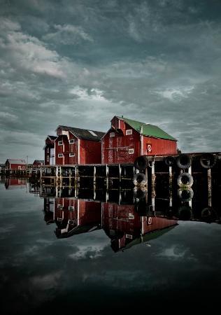 Vega, Norwegia: Brygger på Nes, Porten til Verdensarven