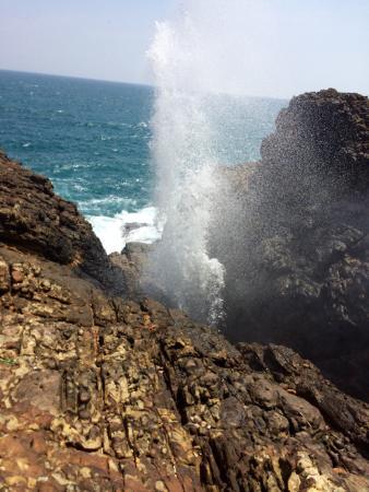 Blow Hole Hummanaya Photo