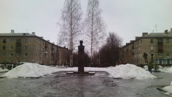 Monument V.A. Molodtsov