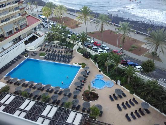 View from bedroom picture of sol costa atlantis puerto de la cruz tripadvisor - Hotel atlantis puerto de la cruz ...