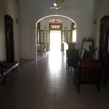 Shanthi Lanka Ayurveda Resort: Eingangshalle