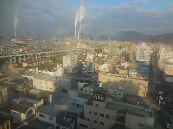 Hotel Route Inn Tokuyama Ekimae : 最上階からの眺め
