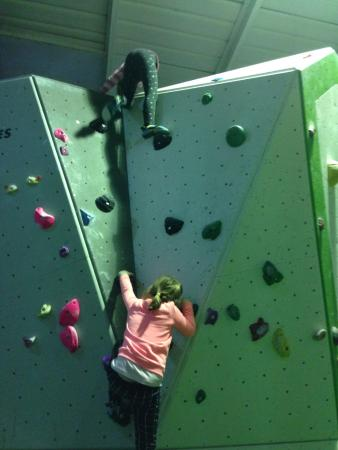 Widnes, UK: The easy route to the top - about 14 ft up