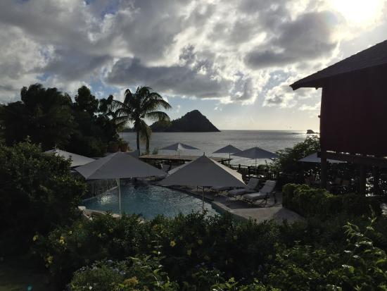 Cap Estate, St. Lucia: Beautiful setting and food!!