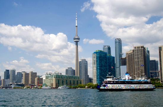 view of toronto from centre island ferry picture of. Black Bedroom Furniture Sets. Home Design Ideas