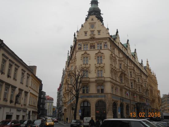 Cafe De Paris Picture Of Hotel Paris Prague Prague