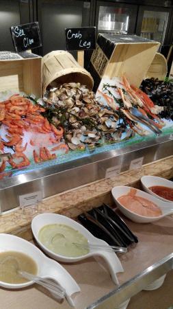 seafood for buffet picture of cafe renaissance hong kong rh tripadvisor co za