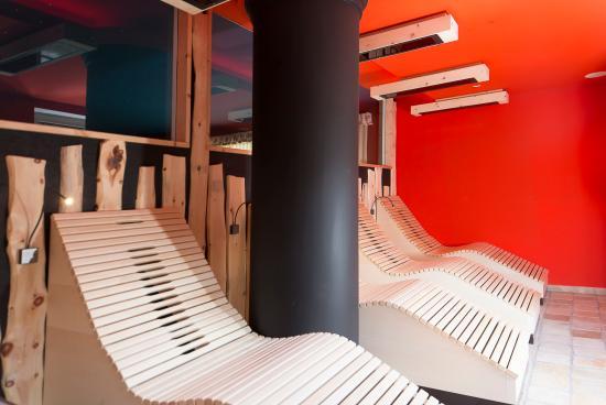 San Martino in Casies, Ιταλία: Sauna a raggi infrarossi