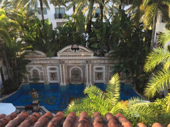 pool and beautiful wall view from upper walkway picture of the rh tripadvisor com au