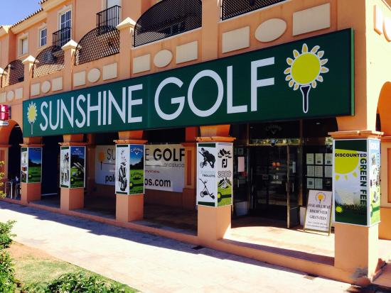 La Cala de Mijas, Ισπανία: SUNSHINE GOLF SHOP