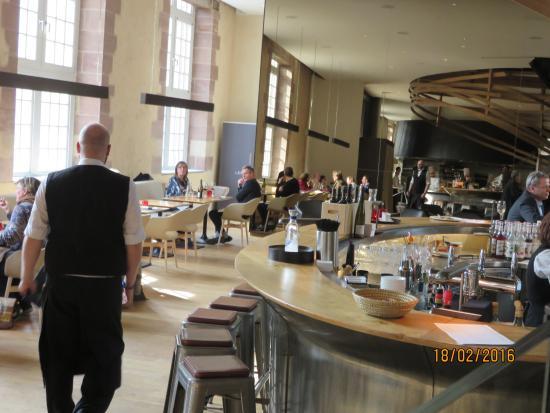 La salle du bas - Photo de Brasserie Les Haras, Strasbourg - TripAdvisor