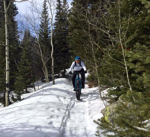 Front Range Ride Guides Ltd Day Tours Riding A Fatbike In Colorado With